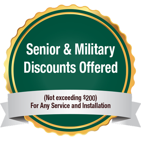 New Senior & Military Discount